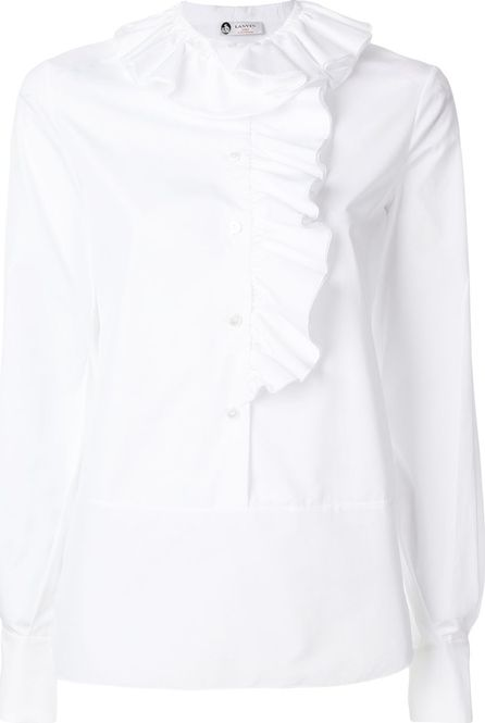 Lanvin shirt with frill detail