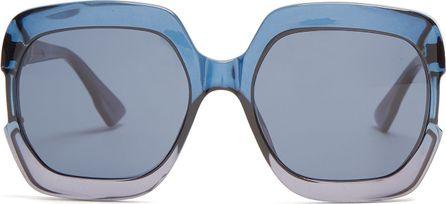 Dior Gaia square-frame acetate sunglasses