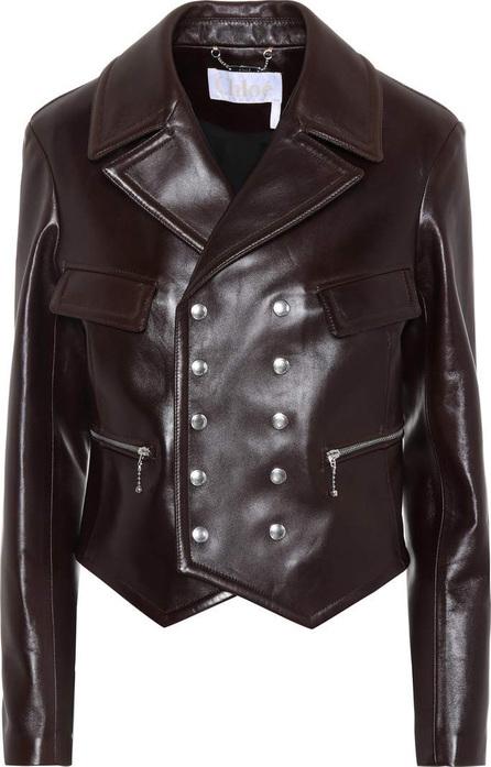 Chloe Leather biker jacket