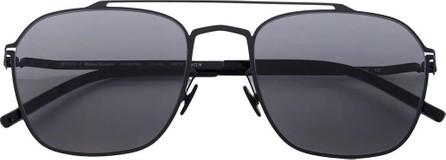 Mykita Mykita x Margiela black oversized frame sunglasses