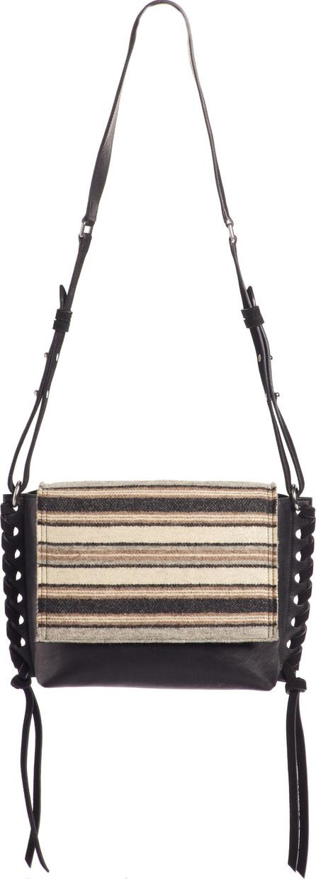 Isabel Marant Asli Wool & Leather Crossbody Bag