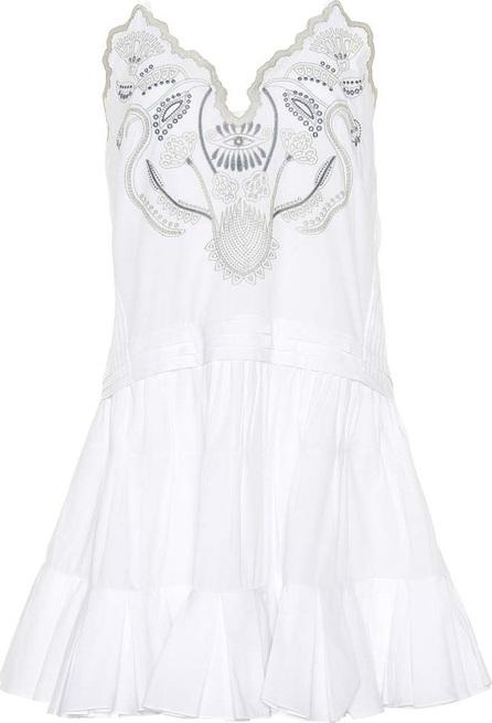 Chloe Sleeveless embroidered dress