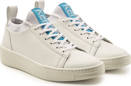 KENZO Low Top Leather Sneakers