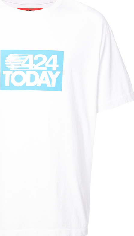 424 Fairfax 424 Today slogan T-shirt