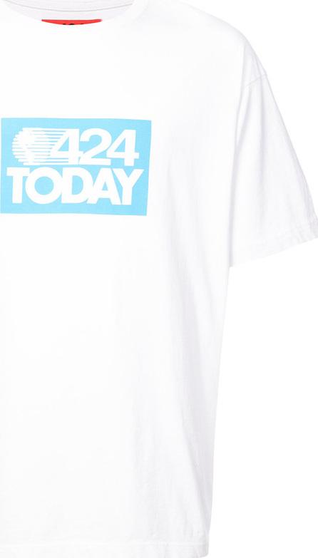 424 Fairfax 424 Today slogan T-shirt