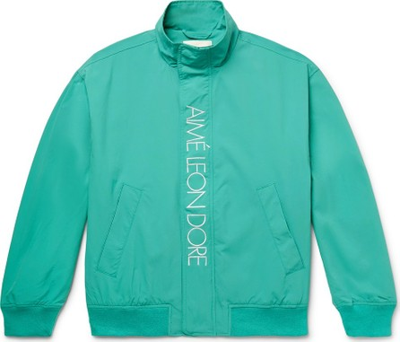 Aimé Leon Dore Logo-Embroidered Nylon Jacket