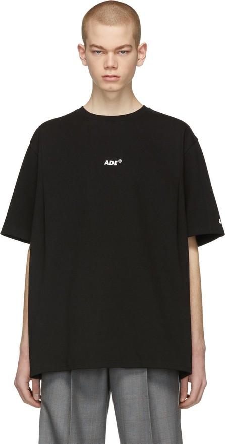 ADER error Black 'Ade' T-Shirt