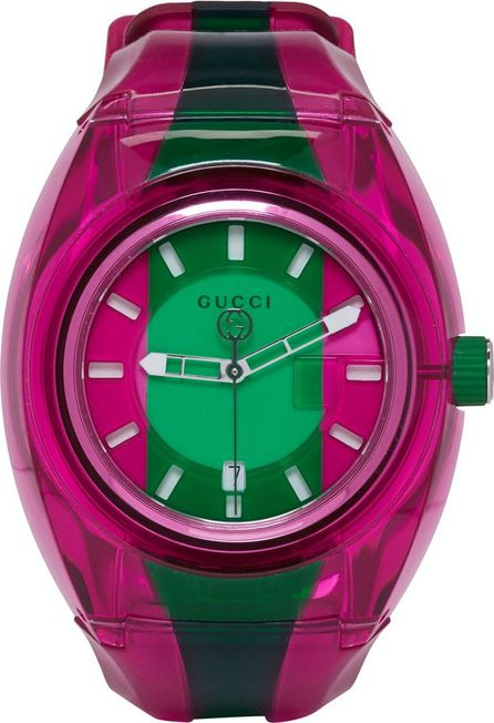 Gucci Pink & Green G-Sync Watch