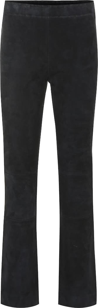 Stouls Maria Rosa cropped suede pants