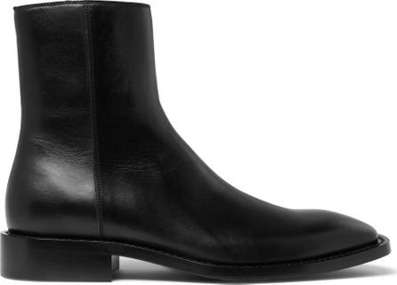 Balenciaga Polished-Leather Boots