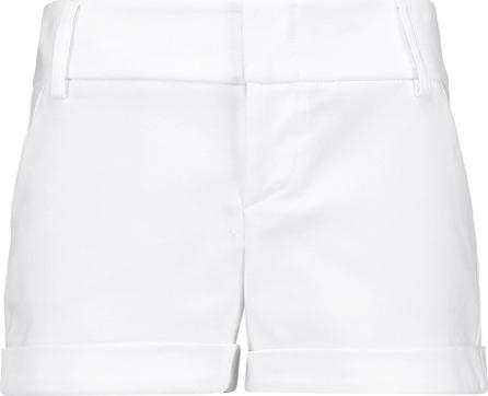 Alice + Olivia Cady stretch cotton-blend shorts