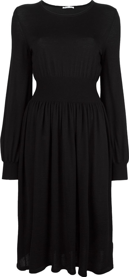 Agnona gathered waist dress