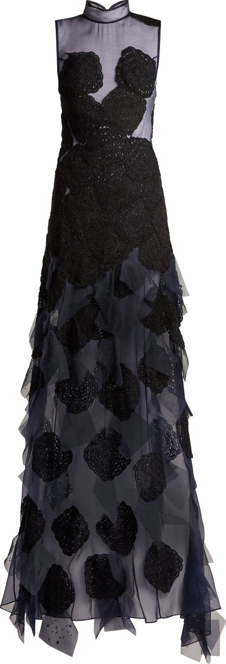 Behno Behno X Fafine Niutao I Aotearoa silk-organza gown