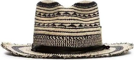 Nick Fouquet VAGUES NEGRA STRAW hat