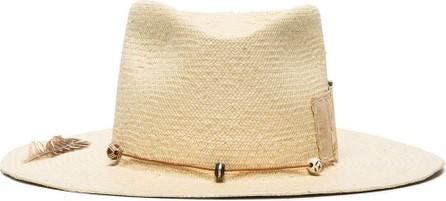 Nick Fouquet Dollar beaded straw hat
