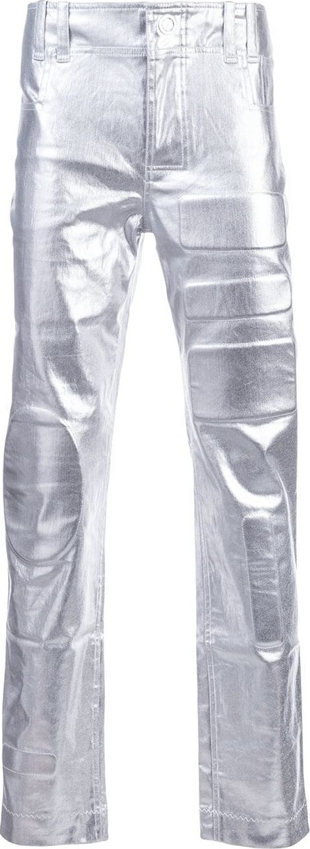 Angus Chiang Metallic trousers