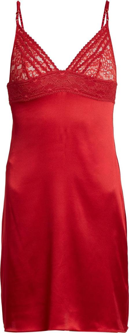 Stella McCartney Lottie Lusting lace-detail silk-blend slip