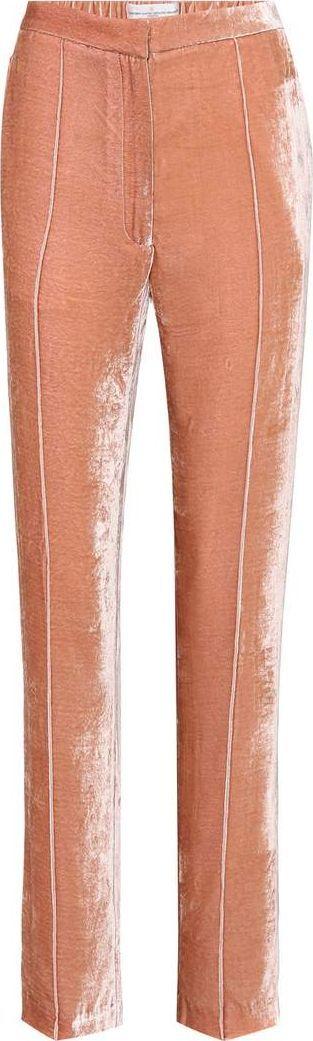 Golden Goose Deluxe Brand Vanda Varsity velvet trousers