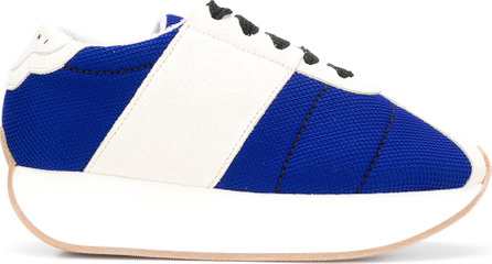 Marni Two tone lace-up sneakers