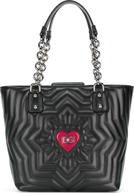 Dolce & Gabbana Shopping quilted Love bag