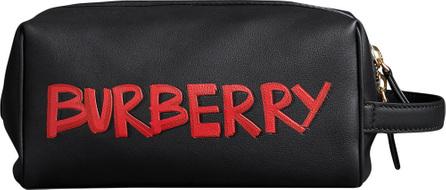 Burberry London England Graffiti zipped pouch