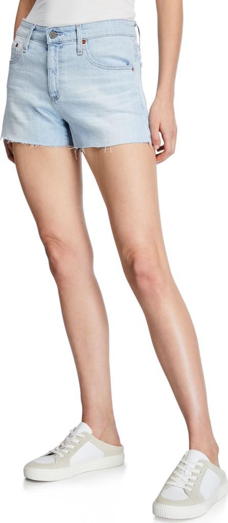 AG Jeans Bryn Ex-Boyfriend Denim Cutoff Shorts