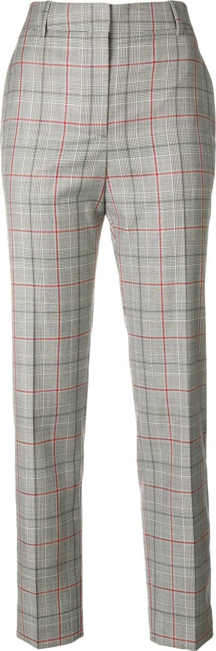 Calvin Klein 205W39NYC Contrast panel checked trousers