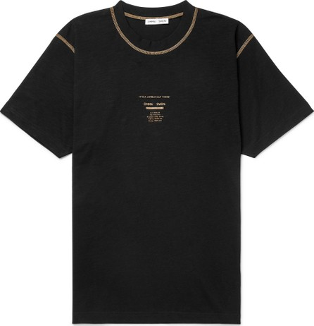 Cmmn Swdn Ridley Printed Cotton-Jersey T-Shirt