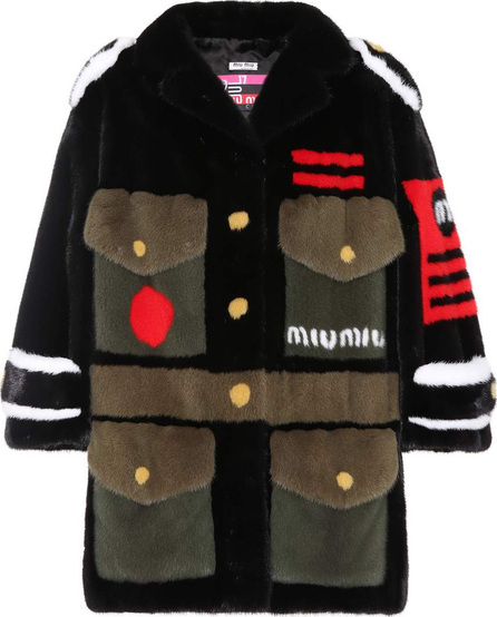 Miu Miu Mink fur army coat
