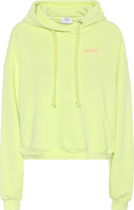 RE/DONE Cotton hoodie