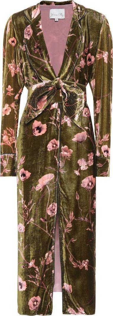 Johanna Ortiz Florari velvet coat