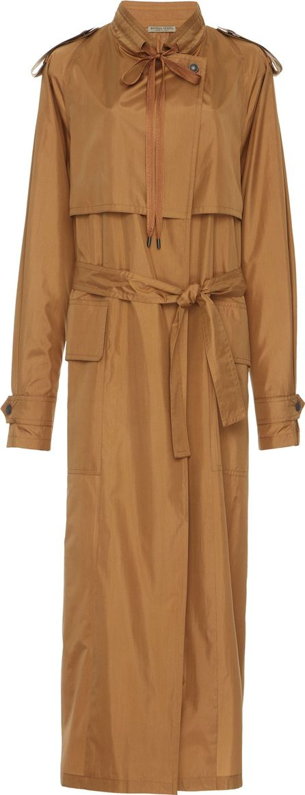 Bottega Veneta Crispy Light Silk Coat