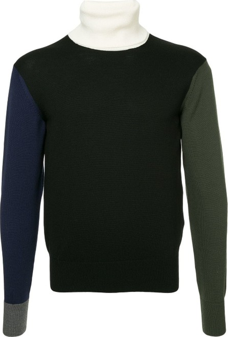 FACETASM Colour block jumper