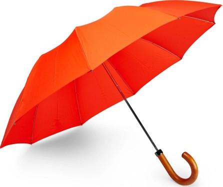 London Undercover Maple Wood-Handle Telescopic Umbrella