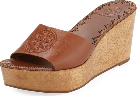 Tory Burch Patty Platform Wedge Slide Sandal
