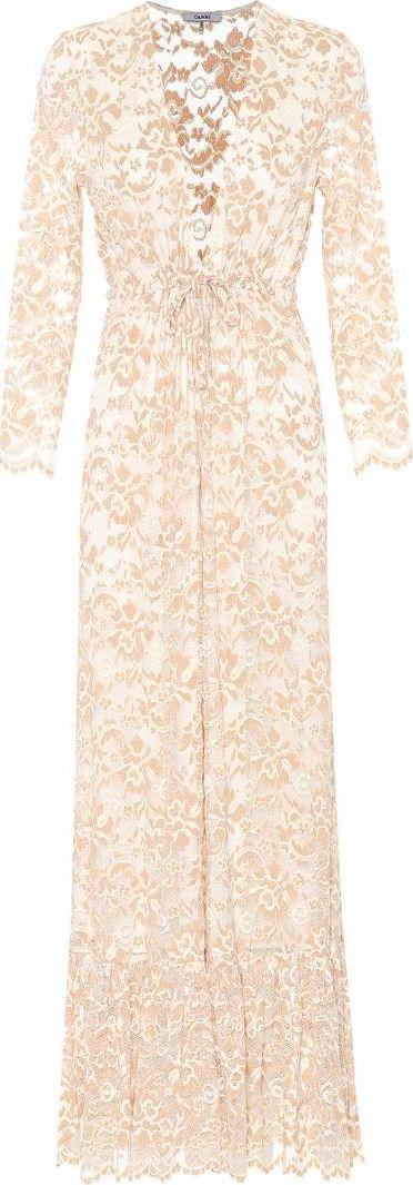 Ganni Flynn stretch-lace dress