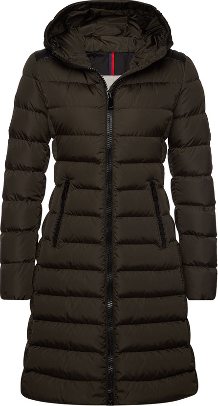 Moncler Tales Quilted Down Coat with Hood