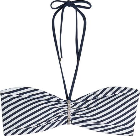 Heidi Klum Intimates Striped Bikini Top