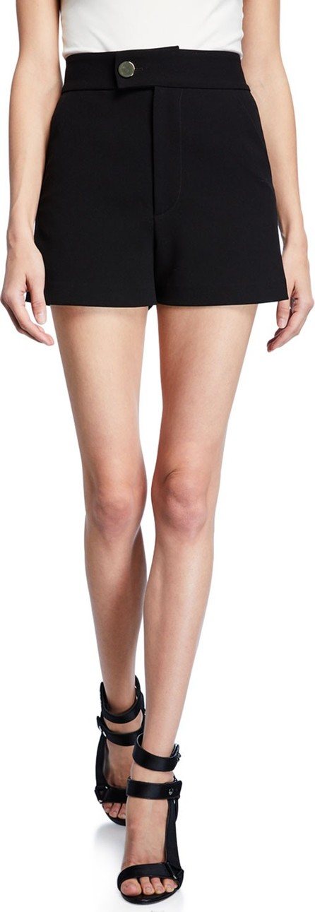 Alice + Olivia Bradwin High-Waist Shorts