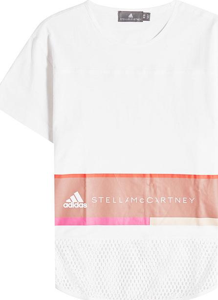 Adidas By Stella McCartney Essentials Logo Tee with Mesh