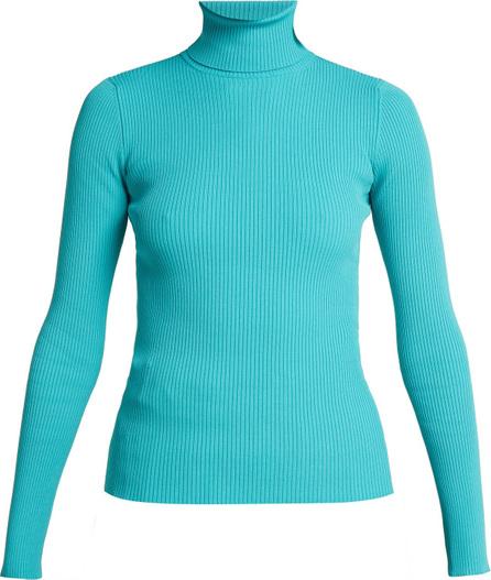 Balenciaga Ribbed-knit roll-neck sweater