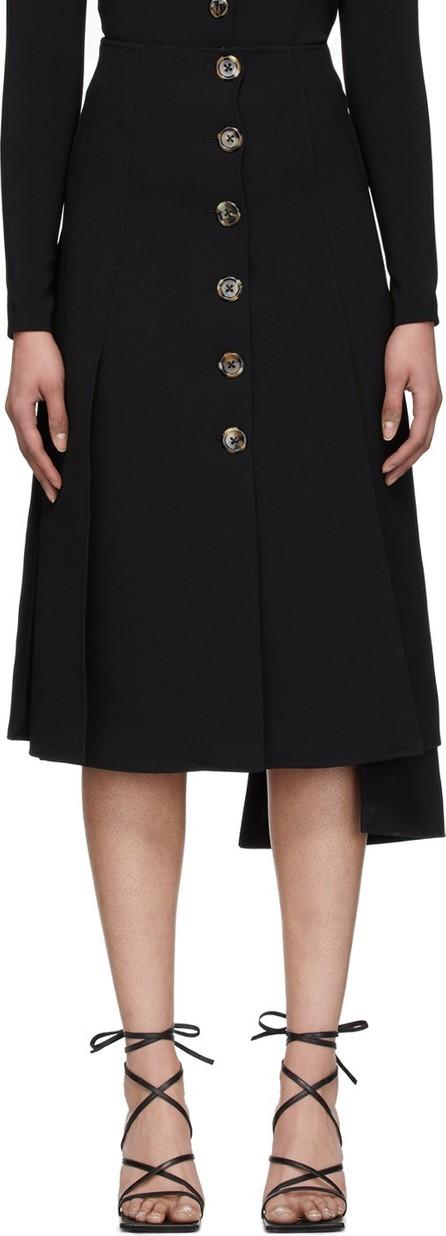 A.W.A.K.E Black Multi Panel Skirt