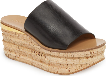 Chloe Camille Cork Platform Sandal