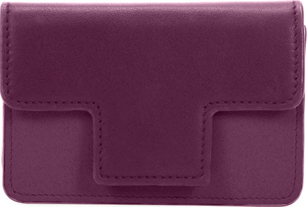 TOM FORD Colorblock Leather Card Holder