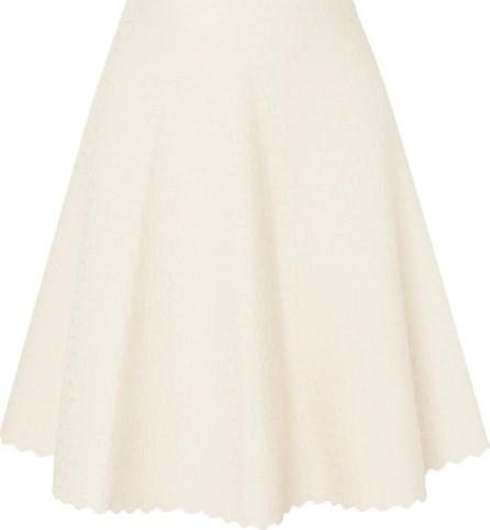 Alaïa Scalloped jacquard-knit skirt