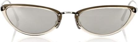 Linda Farrow 709 C7 cat-eye sunglasses