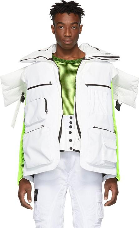 Colmar A.G.E. By Shayne Oliver White Utility Vest
