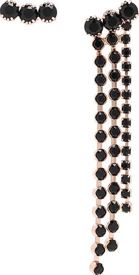 Isabel Marant A While Shore Asymmetrical Earrings
