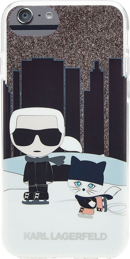 Karl Lagerfeld Karl and Choupette NYC iPhone 7 Case