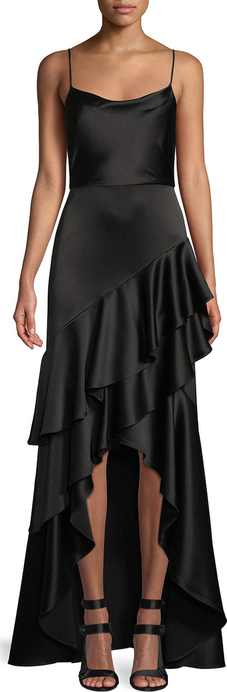Lauralei Ruffle High-Low Gown